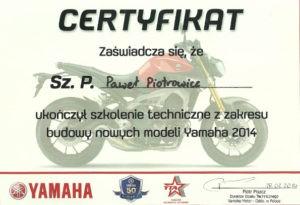 certyfikat-yamaha-2014